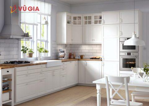 Thiết kế phòng bếp thông minh cho không gian nhỏ hẹp