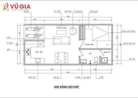 bản thiết kế xây dựng nhà cấp 4