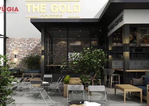 thiết kế và thi công quán cafe khung thép