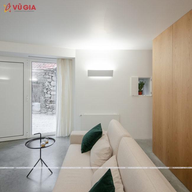 nội thất phòng khách châu Âu